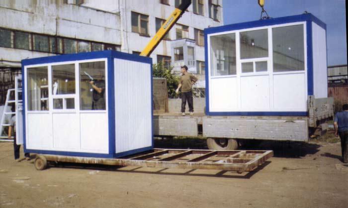 Как построить торговые быстровозводимые павильоны из сэндвич 39