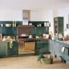 Фото вариантов отделки стен на  кухне. Искусственное «состаривание». Один из популярных вариантов отделки кухни