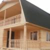Как построить деревянный дом. Двухэтажные дома из бруса: фото, видео.  Как правильно построить деревянный дом своими руками