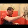 Бесшовная укладка керамогранита на стену