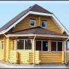 Планы деревянных домов из оцилиндрованного бревна, технология строительства, видео, фото. Деревянный дом из оцилиндрованного бревна- проект