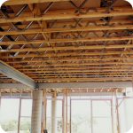 Конструкции межэтажного деревянного перекрытия