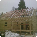 Стоимость ремонта деревянной крыши