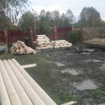 Способ крепления стропил деревянного дома