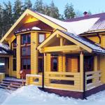 Деревянные дома обустройство внутри