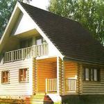 Дома из оцилиндрованного бревна Архангельск