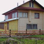 Дома из бруса клееного