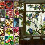 Проекты домов с витражными окнами