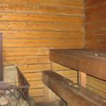 Отделка деревянной парной внутри