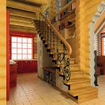 Интерьер срубовова дома