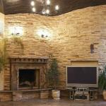 Варианты декоративной отделки стен в помещении