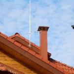 Молниеотвод для деревянного дома