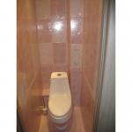 Стеновые панели в туалете