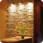 Варианты отделки стен кухни