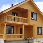 Старинные деревянные дома в Германии