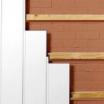 Отделка стен прихожей панелями