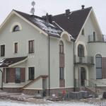 Обивка фасада гипсоволокном