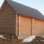 Строительство дома из бруса своими силами. Дома из профилированного бруса и их особенности