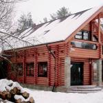 Костромские дома оцилиндрованного бревна