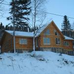 Фото домов из клееного бруса