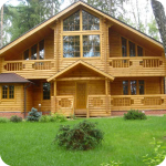 Чертежи оцелиндрованых домов