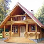 Проект дома из Оцилиндровки