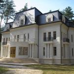 Краткое описание фасада коттеджа