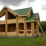 Строительство деревянных домов и бань из бревна и бруса