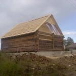 Дома из оцилиндрованного бревна от мастердома.