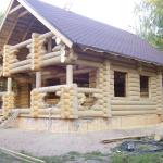 Дома из клееного бруса в мордовии