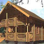Проекты домов из Оцилиндровки
