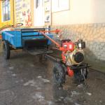 Трактор из бензопилы