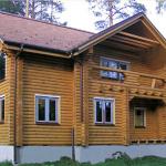 Дома из оцилиндрованного бревна в омске