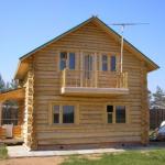 Лучшие дома из оцилиндрованного бревна
