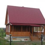Пошаговое строительство дома из бруса