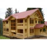 Варианты домов из оцилиндрованного бревна