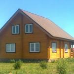 Фото этапов отделки дома из бруса