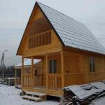 Строительство дощатого дома