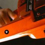 Как снять цепь с бензопилы?
