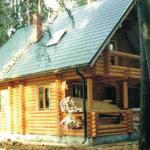 Расчет дома из оцилиндрованного бревна