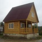 Фото домов имитация бруса