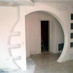 Отделка стен гипсокартоном в кирпичном доме