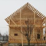 Строительство домов из бруса своими силами