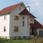Стильные дома из бруса
