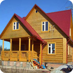 Недорогие дома из бруса в Екатеринбурге