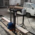 Бензиновая шинная пилорама чертежи