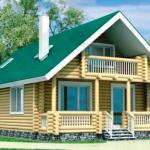 Расчет стоимости дома из оцилиндрованного бревна