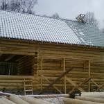 Спецпредложение дом из оцилиндрованного бревна