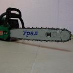 Бензопила Урал инструкция