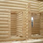 Оцилиндрованное бревно и клееный брус. Строительство деревянного дома из оцилиндрованного бревна и его характеристики